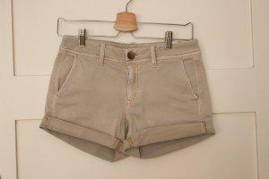 American Eagle Outfitters Hot pants licht beige Katoen