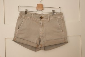 American Eagle Outfitters Short moulant beige clair coton
