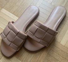 Oysho Beach Sandals beige