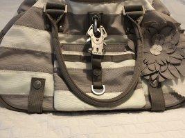 beige-weiße Tasche von George Gina & Lucy