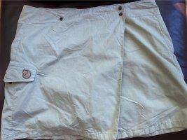 Beiger Outdoor-Minirock mit eingearbeiteter Shorts von fjällräven, Größe 44