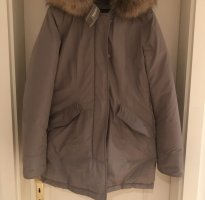 Woolrich Donsjas beige-grijs-bruin
