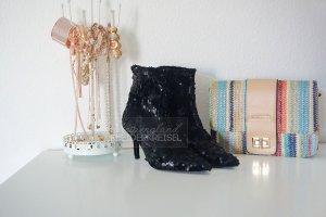 Beliebte Sequin Samt Sock Boots von Zara