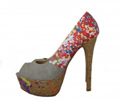 Belle Women High Heels multicolored