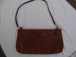 Belmondo Clutch cognac-coloured leather