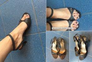 Belmondo Damen Sandale 38 braun