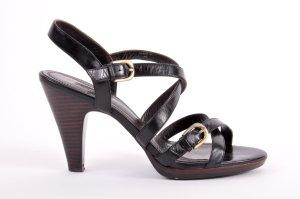 Belmondo Strapped pumps black leather