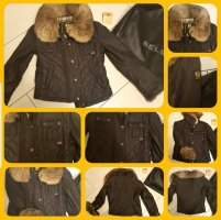 Belstaff Waxed Jacket dark brown