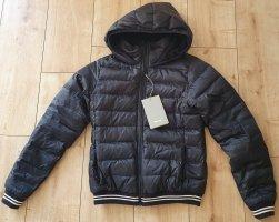 Bench Down Jacket black-white polyester