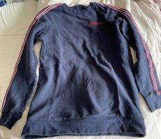 Bench Fleece Jumper dark blue-brick red