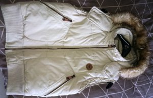 Bench Quilted Gilet oatmeal mixture fibre
