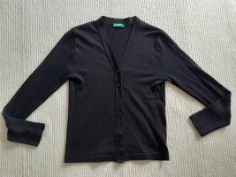 Benetton Gehaakte cardigan zwart