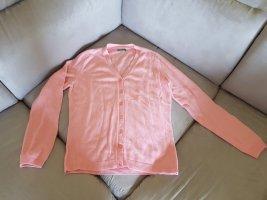 Benetton Maglione twin set rosa chiaro