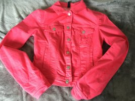Benetton Jeans Denim Jacket pink