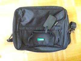 Benetton Funda para portátil negro