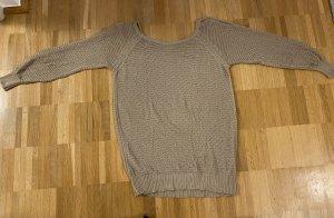 Benetton Knitted Sweater beige
