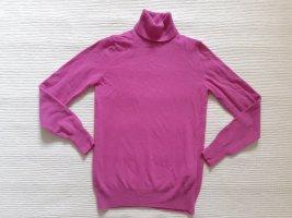 benetton rollkragen pink neu gr. m 38 wolle