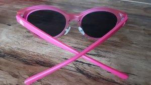 Benetton Lunettes de soleil rondes rose