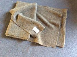 Benetton Écharpe en laine bronze-gris brun