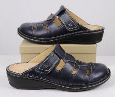 Finn Comfort Sandalo comodo blu scuro-blu Pelle