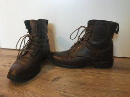 Botas de tobillo marrón Cuero