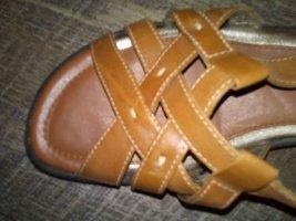 ♥bequeme Ecco Comfort Sandalen Leider 40 Braun Soft♥ letzte Reduzierung ⏰