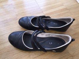 Lacoste Mary Jane Ballerinas black leather