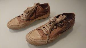 Candice Cooper Basket à lacet blanc-marron clair