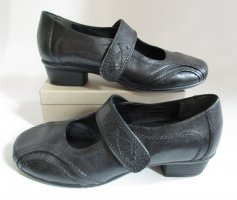 Medicus Mary Jane Pumps black leather