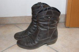 Rieker Heel Boots grey