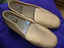 Blue Motion Moccasins sand brown leather