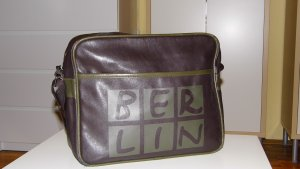 College Bag multicolored imitation leather