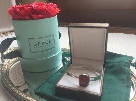 Bracelet de bras brun-argenté