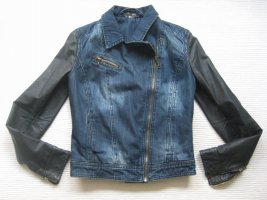 bershka bikerjacke neu gr. 36 s jeans