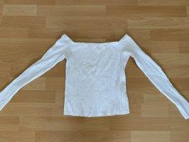Bershka Cashmere Jumper white