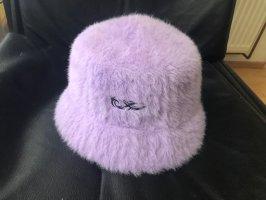 Bershka Bucket Hat mauve