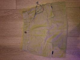 Bershka Denim Skirt beige