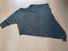 Bershka Długa koszulka khaki