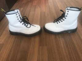 Doc Martens Lace-up Booties white-black