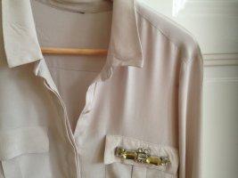 Bestickte Bluse aus Waschseide