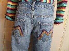 Meltin Pot Jeans svasati blu Cotone