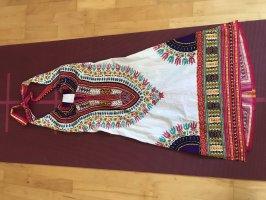 Halter Dress multicolored cotton