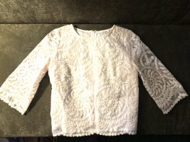 Darling Lace Blouse natural white cotton