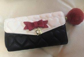 Betsey Johnson Wallet black-brick red