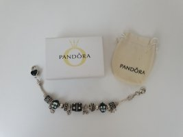 Charm Bracelet black-silver-colored