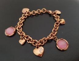 Bettelarmband, rosegoldfarben