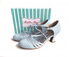Bettie Page Pinup Schuhe Pumps vintage pastell