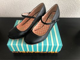 Bettie Page Retro Mary Jane Heels, Gr. 39/40