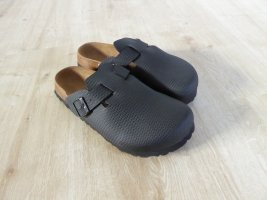 Birkenstock Slip-on Shoes black imitation leather
