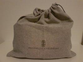 Brunello Cucinelli Torebka typu worek jasnoszary-szary